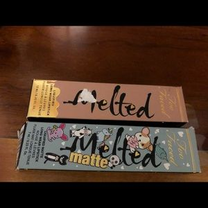 Set of 2!Too faced liquified long wear lipstick...